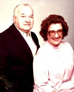 Alex and Laura Beloff  Alex's parents