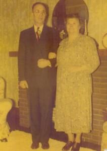 John and Lena Hulay Russian grandparents