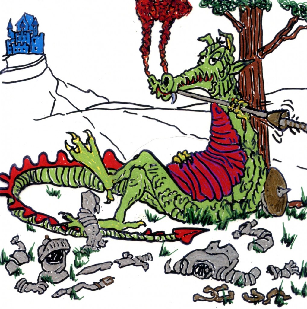 He who hesitates is dinner. Then the dragon wins!