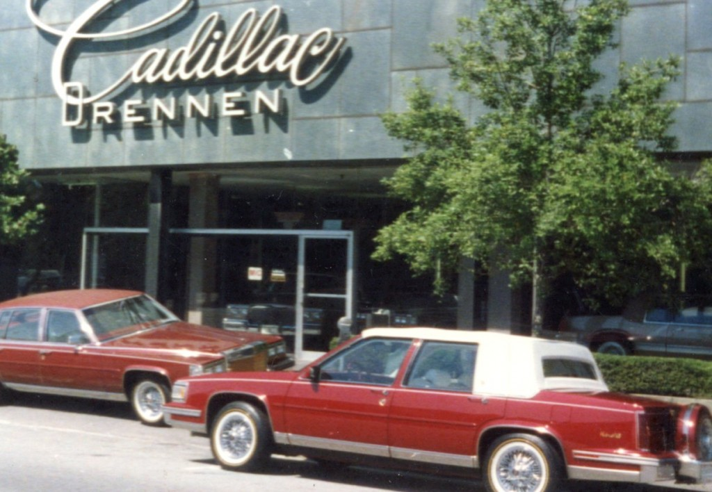 Alex as Sales Manager restyled each Cadillac at Drennen Cadillac in Birmingham AL
