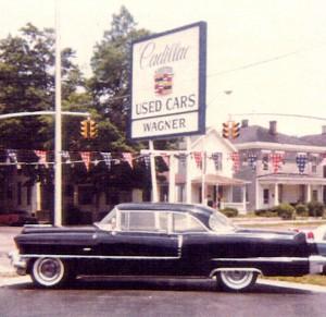 Wagner Cadillac sign