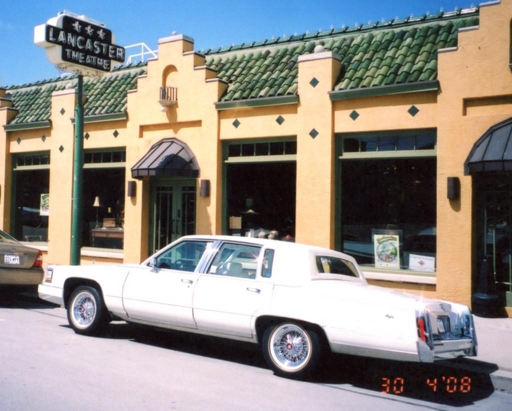 Alex's 1991 white Cadillac