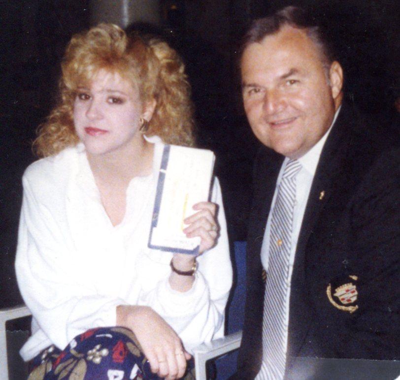 Alex with daughter Nancy Beloff