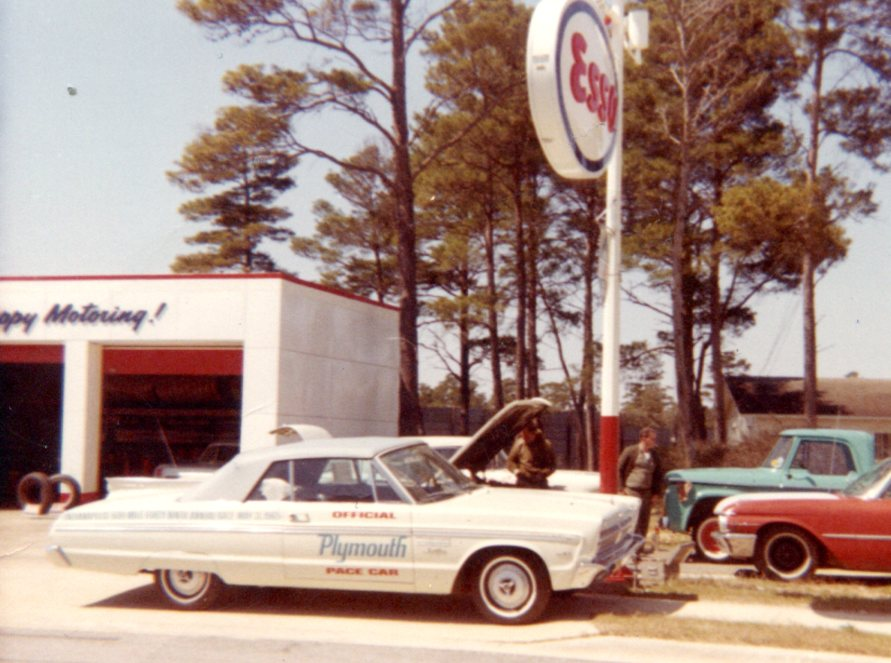 1965 Plymouth at Brown Motors, Fort Walton Beach, FL