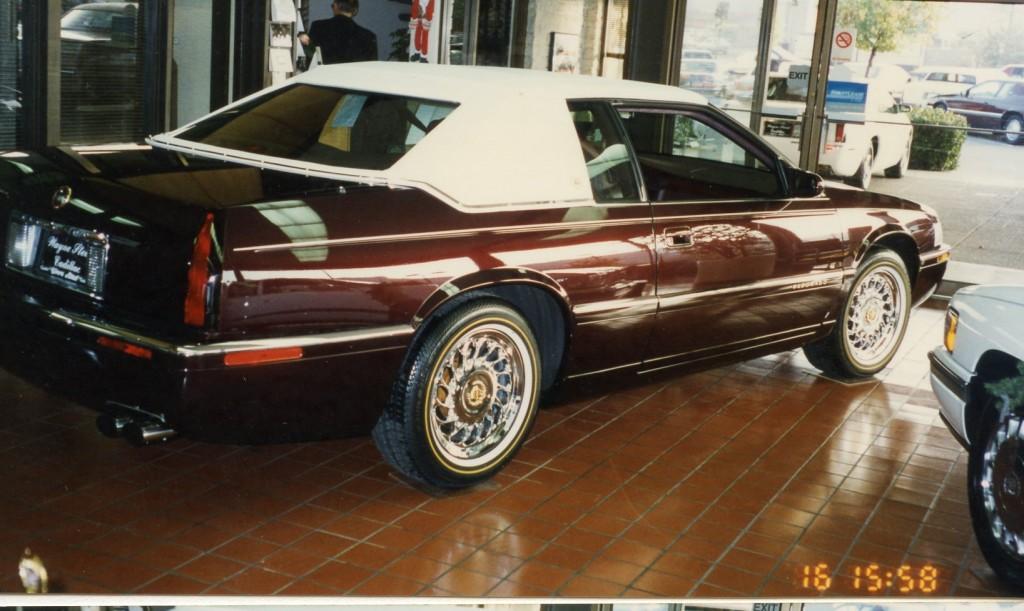 !998 Cadillac Eldorado restyled by Alex at Wayne Stead Cadillac