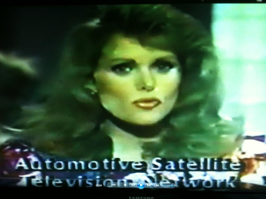 ASTN program with Alex Beloff  Miss America hostess