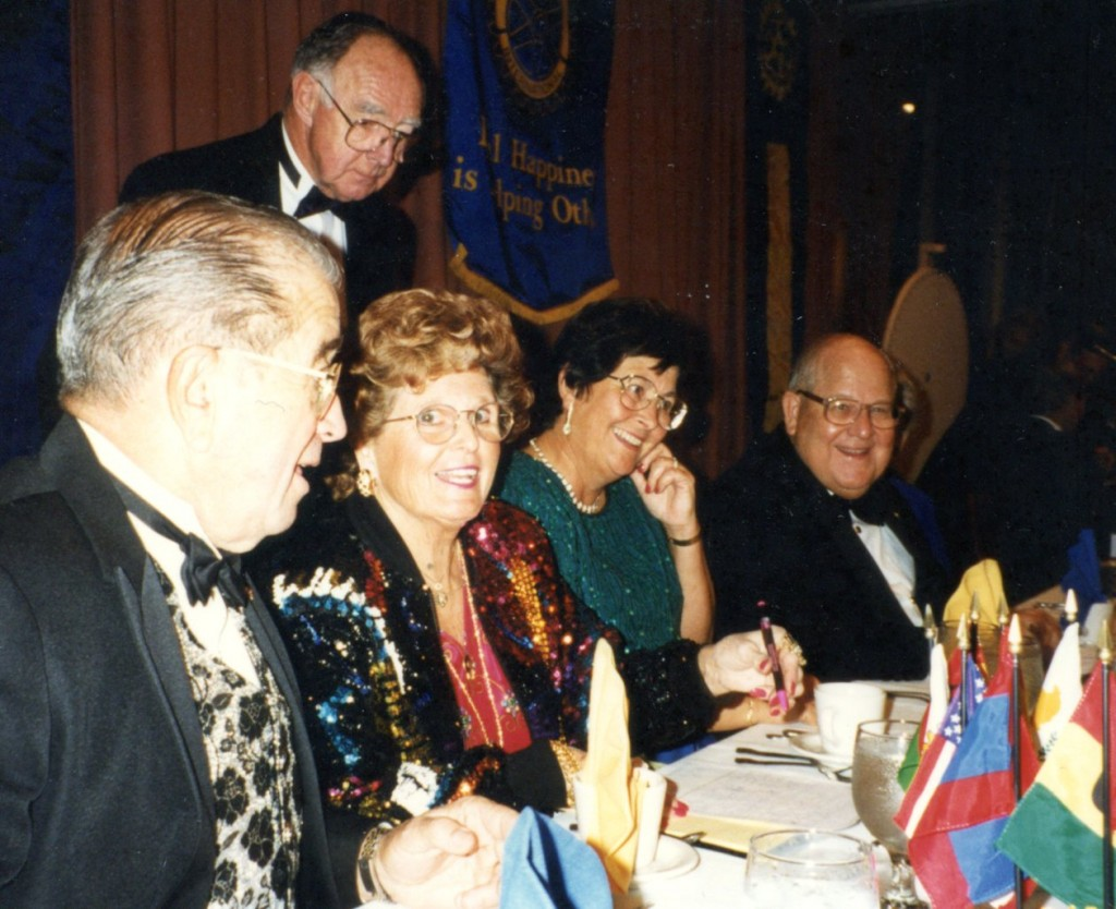 1992 Rotary dinner California