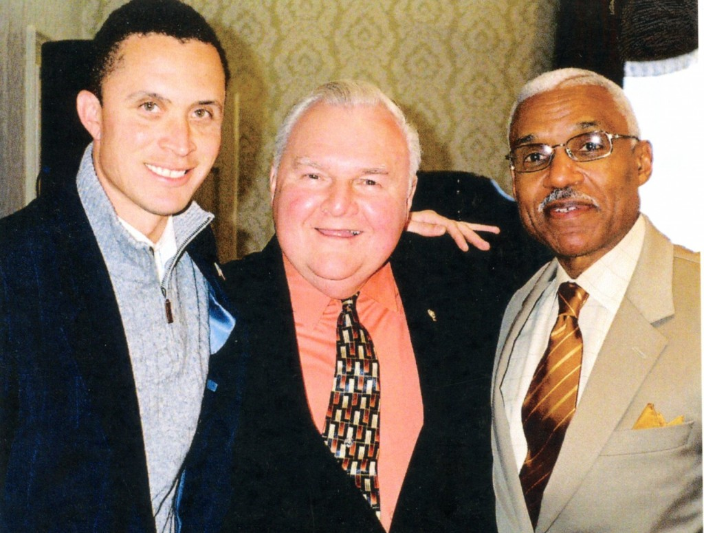 Alex with Harold Ford Jr. and A C Wharton